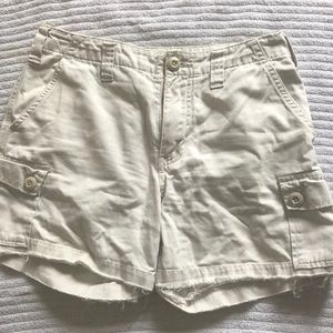 Abercrombie and Fitch cargo short shorts